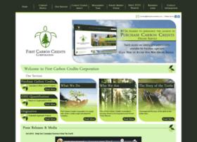 firstcarboncredits.com