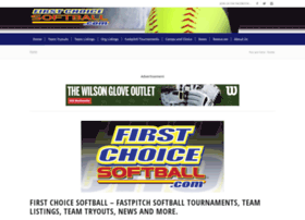firstchoicesoftball.com