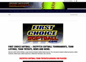 firstchoicesoftball.com