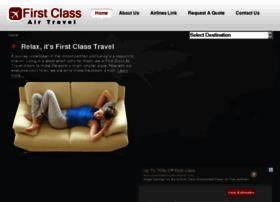 firstclassairtravel.com