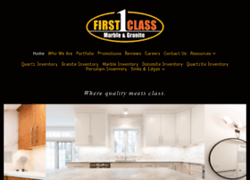 firstclassmarbleandgranite.com