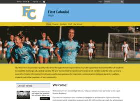 firstcolonialhs.vbschools.com
