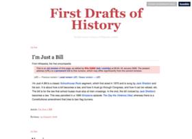 firstdraftsofhistory.tumblr.com