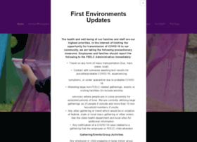 firstenvironments.org