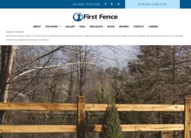 firstfence.com