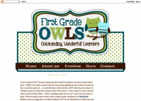 firstgradeowls.blogspot.com