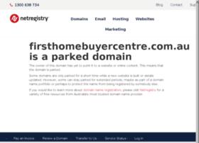 firsthomebuyercentre.com.au