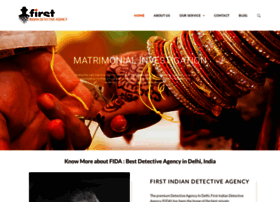 firstindiandetectiveagency.com