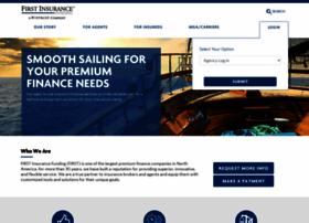firstinsurancefunding.com