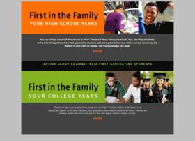 firstinthefamily.org