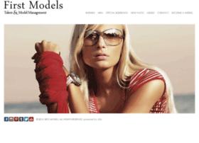 firstmodels.com