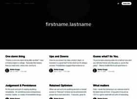 firstnamedotlastname.com