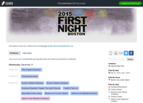 firstnightboston2015.sched.org
