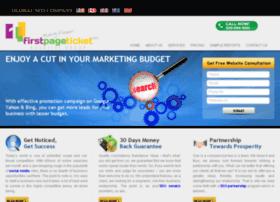 firstpageticket.com