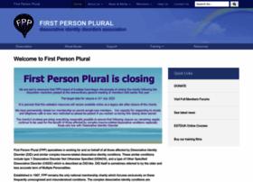 firstpersonplural.org.uk