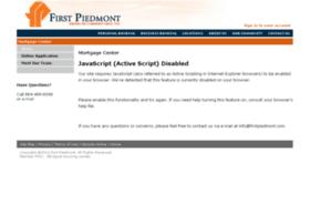 firstpiedmont.mortgagewebcenter.com