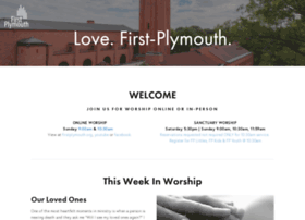 firstplymouth.org