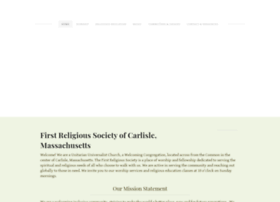 firstreligioussociety01741.weebly.com