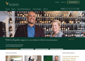 firstrepublicbank.com