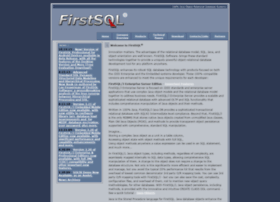 firstsql.com