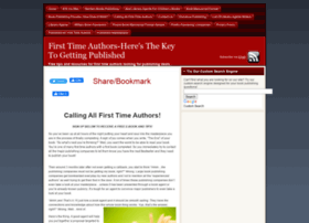 firsttimeauthors.org