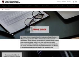 fiscal.ttuhsc.edu