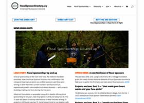 fiscalsponsordirectory.org