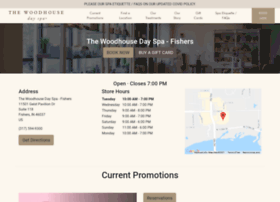 fishers.woodhousespas.com
