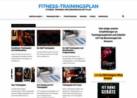 fitness-trainingsplan.de