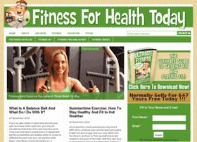 fitnessforhealthtoday.com