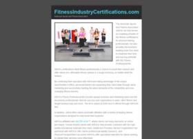 fitnessindustrycertifications.com