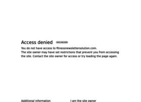 fitnessnewslettersolution.com