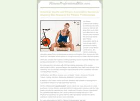 fitnessprofessionalsite.com