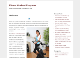 fitnessworkoutprograms.org