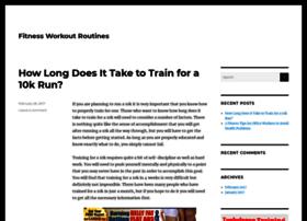 fitnessworkoutroutines.com