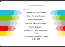 fitpromdress.co.uk