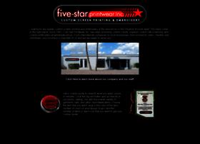 five-starprintwear.com