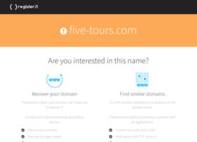 five-tours.com