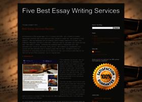 fivebestessaywritingservices.blogspot.com