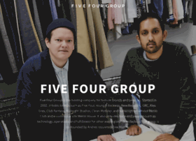 fivefourgroup.com