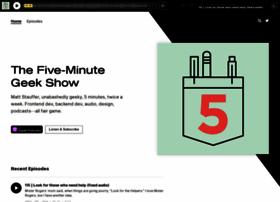 fiveminutegeekshow.com