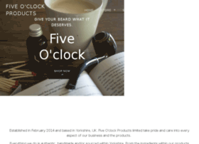 fiveoclockproducts.com