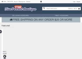 fivepercentboutique.com