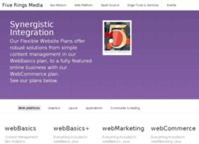 fiveringsmediawebsites.com