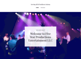 fivestar-productions.com