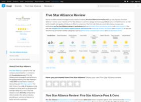 fivestaralliance.knoji.com