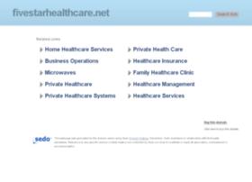 fivestarhealthcare.net