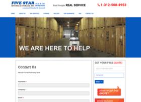 fivestarmovers.com