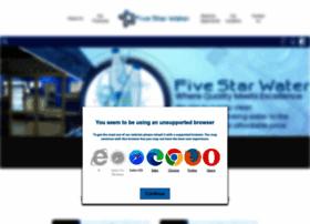 fivestarwater.co.za