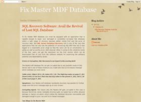 fix-master-mdf-database.blogspot.in